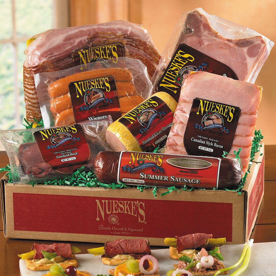 Smoked Meat Lovers Gift Box | Smoked Pork | Nueske's
