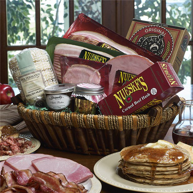 Breakfast Meat & Pancake Gift Backset