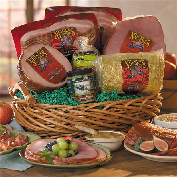Extravaganza Smoked Meat Gift Basket | Nueske's