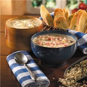 Gourmet Wild Rice Soups
