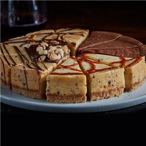 Candy Bar Cheesecake Sampler