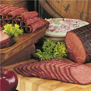 Smoked Beef Slices (Five 4 oz. pkgs)