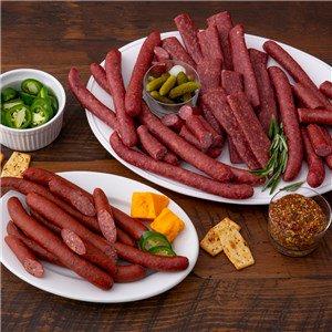 Applewood Smoked Sausage Snack Sampler