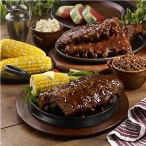 Hickory Smoked BBQ Ribs