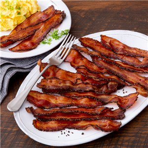 Smoked Peppered Bacon