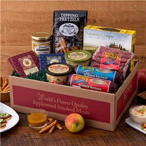 Deluxe Cheese & Sausage Gift Box