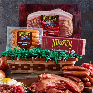 Breakfast Meats Gift Basket