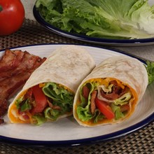 Bacon Lettuce Tomato Wraps