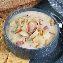Bacon Clam Chowder Recipe