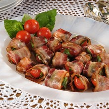 Bacon Wrapped Cherry Tomatoes Recipe