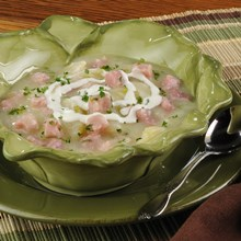 Ham & Cauliflower Soup Recipe