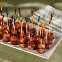 Smoked Bacon Lollipops Recipe