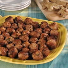 Smoked_Turkey_Meatballs_with_Ginger_Lime_Sauce_Nueskes_Recipe