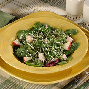 Apple, Asparagus, and Smoked Chicken Salad