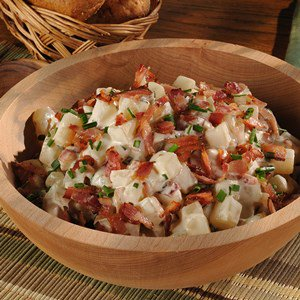 Bacon & Caramelized Onion Potato Salad