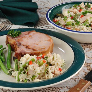 Applewood Smoked Chicken Risotto