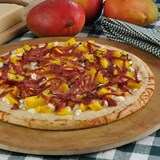 Smoked_Duck_Mango_and_Goat_Cheese_Pizza_Nueskes_Recipe