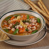 Smoked_Turkey_Vegetable_Soup_Nueskes_Recipe
