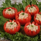 Tomatoes_Stuffed_with_Smoked_Turkey_Nueskes_Recipe