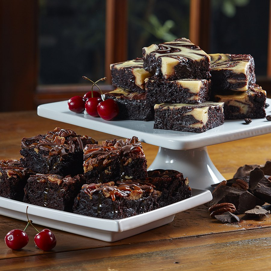 Turtle Fudge & Espresso Brownies