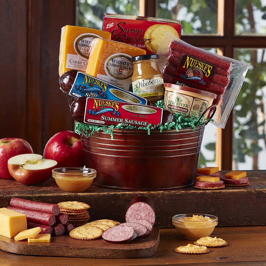 Nueske's Ultimate Gift Basket. $99.99. 918_Party_Pail_900x900