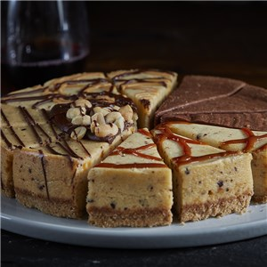 Candy Bar Cheesecake Sampler