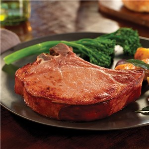 Applewood Smoked Bone-In Pork Chops