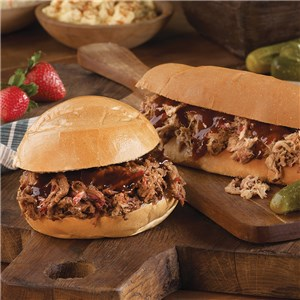 Hickory Smoked Pulled Pork & Beef Brisket