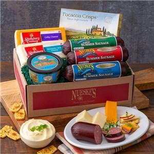 Cheese & Sausage Sampler Gift Box